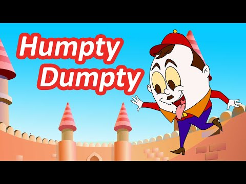 Humpty Dumpty Sat On A Wall | Animated Nursery Rhymes | English Rhymes & Songs by Jingle Toons