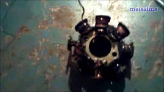 Rebobinado y reparacion estator Gas Gas 125cc 250cc 2003 - 2005 part1