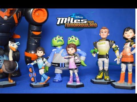 Disney Miles à partir de demain figurine playset