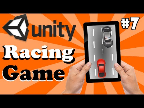 7.Unity Racing Game Development Tutorial- Enemy Cars In Random Position