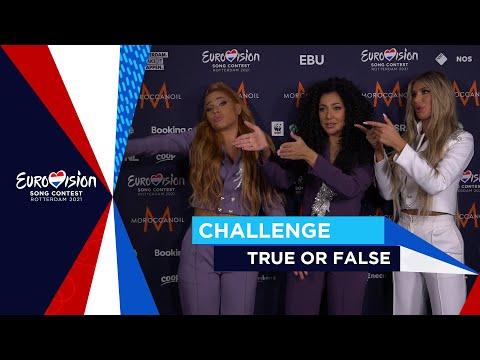 Challenge #4 - True or False - Eurovision 2021