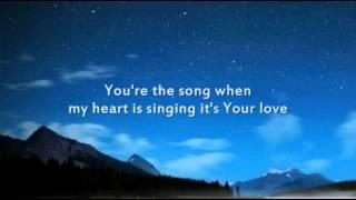 Brandon Heath - Your Love - Instrumental with lyrics