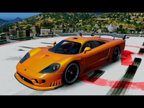 GTA 5 SALEEN S7 SUPERCAR MOD!