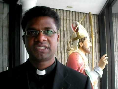 Fr. Joyson - Pastor of St. Martin of Tours Parish