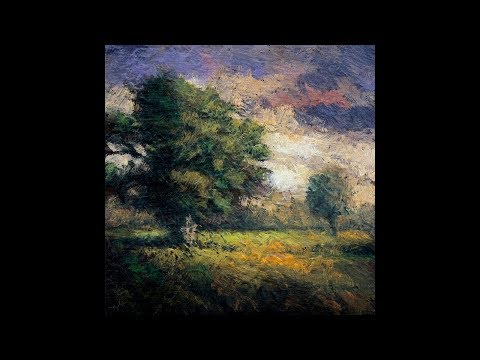 Tonalist Minute Series #18 Tree in a Field 3×3 – Painting Demonstration