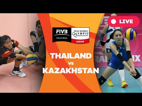Thailand v Kazakhstan - 2016 Women's World Olympic Qualifica
