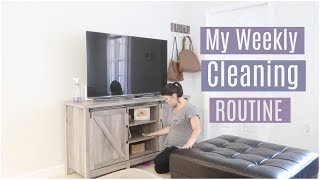 My Weekly Cleaning Routine | Clean With Me !