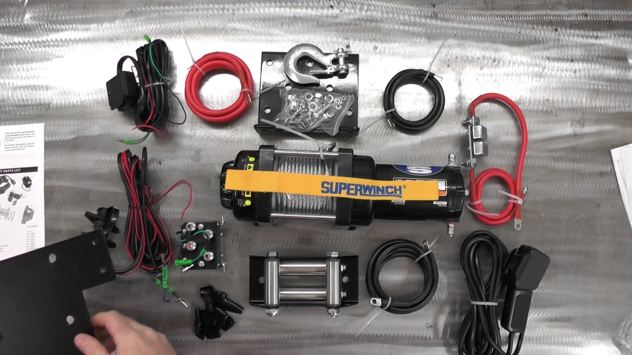 medium resolution of superwinch lt3000 what you ll get the hidden winch expense youtube