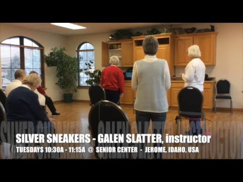 GALEN SLATTER TEACHES THE SILVER SNEAKERS WORKOUT FOR SENIORS ...