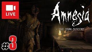 """[Archiwum] Live - AMNESIA: The Dark Descent! (2) - [1/2] - """"Chemikalia i kołowrotek"""""""