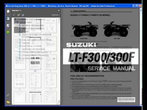 Suzuki    King       Quad       Wiring    Harnes     Wiring       Diagram    Library