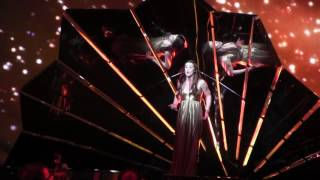 ESCKAZ in Kyiv: Lucie Jones (United Kingdom) Dress rehearsal Never Give Up On You