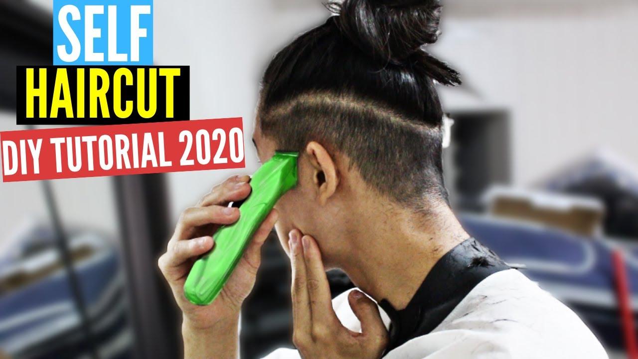 Self Cut Challenge 2019 Haare Selber Schneiden Männer übergang Taper Fade Fail Man Bun Nuyän