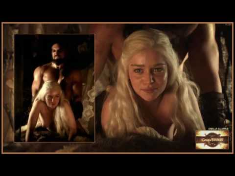Emilia Clarke Cant Stand The Sex Scenes On Game Of Thrones 2015 Mhrary