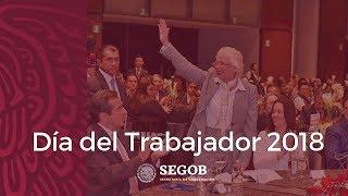 Secretaria Olga Sanchez Cordero Dia del Trabajador de la SEGOB 2018