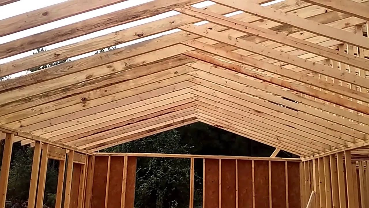 Vaulted Ceiling-Cabin in the Woods - YouTube