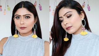 WINTER Makeup For DRY SKIN with TIPS in Hindi  || Rinkal Soni