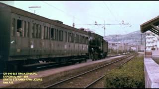 LINEA SAVONA VENTIMIGLIA ANNI '70 '80 '90 - TRENI SPECIALI