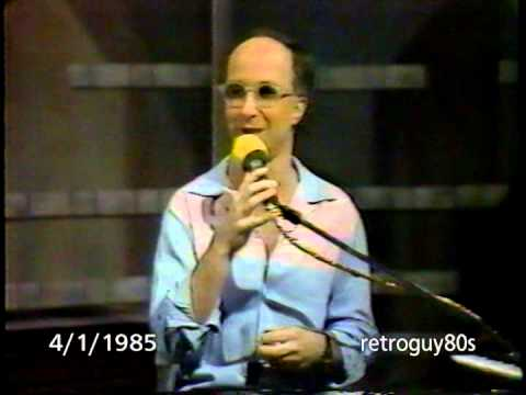 Late Night with David Letterman - 3/28 & 4/1/1985 - WKLS 96 Rock Atlanta