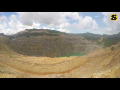 Carmen Copper Corp. mine tour