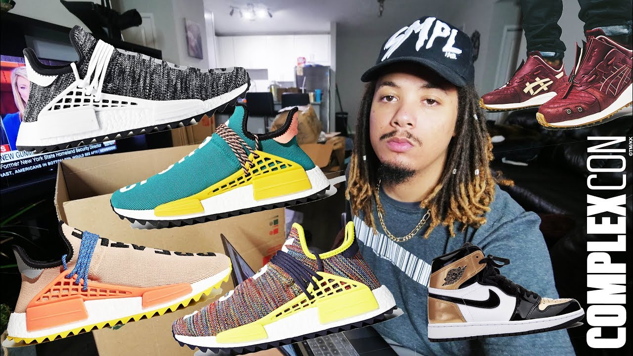 best service 6e256 144cd MY THOUGHTS ON PHARRELL X ADIDAS HUMAN RACE
