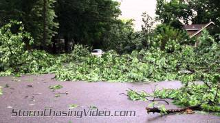 7/1/2011 Saint Cloud, MN Severe Storms, Large Hail, High Winds and storm damage.