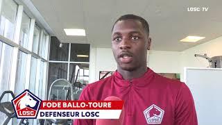 Fodé Ballo-Touré réagit après sa première sélection en Équipe de France Espoirs