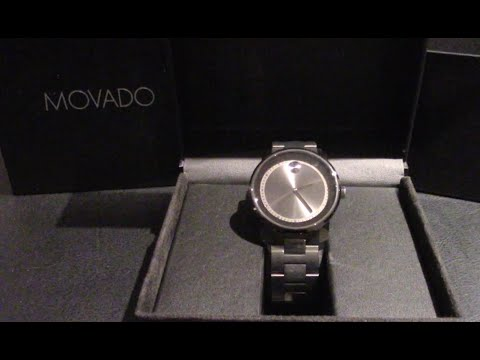 unboxing-the-movado-bold-3600259-stainless-steel-swiss-quartz-watch