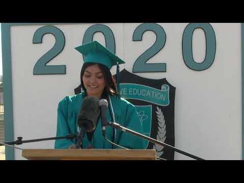 Inspirational Words from Members of Alvord Alternative Continuation High School Graduating Class