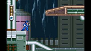 Mega Man X - Part 1 Intro Stage and Ice Penguin - User video