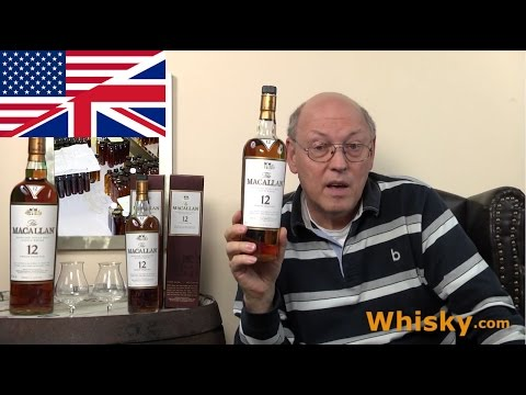 Whisky Review/Tasting: Macallan 12 years Sherry Cask