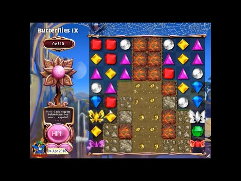 [L] Bejeweled 3 - Full Longplay: Quest Mode Plus 3 Fan edit [720p60]