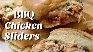 BBQ Chicken Sliders / Easy Recipe