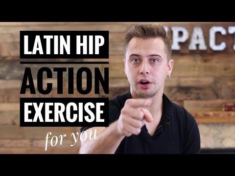 Latin Hip Action exercises|Cuban Motion |Latin Dance Tutorial