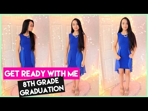 Get Ready With Me!♡8th Grade Promotion/Graduation
