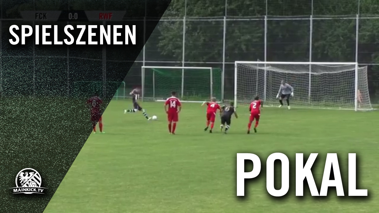 Fc Kalbach Rot Weiss Frankfurt Halbfinale Frankfurter Sparkasse Fussball Cup Spielszenen