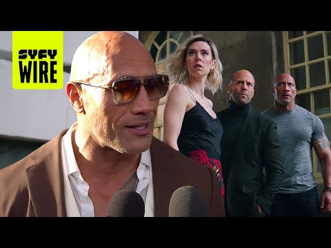 Hobbs & Shaw: Red Carpet Duel | SYFY WIRE