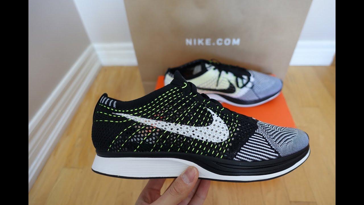Nike Flyknit Corredor Negro Voltio Orca venta barata 2015 ofertas Mejores tratos aclaramiento muy barato nwFHXI