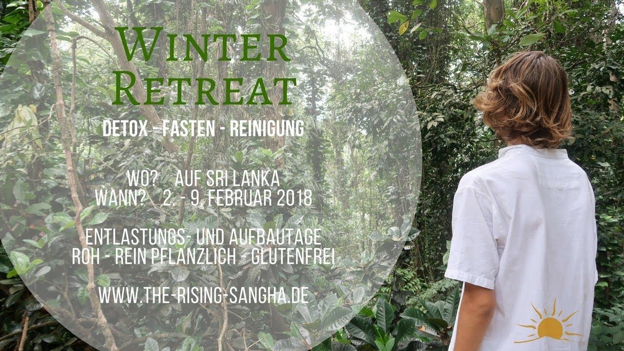 WINTER RETREAT 2018 auf SRI LANKA im Dschungel!!