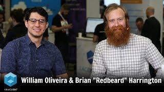 "William Oliveira & Brian ""Redbeard"" Harrington, Red Hat | KubeCon 2018"