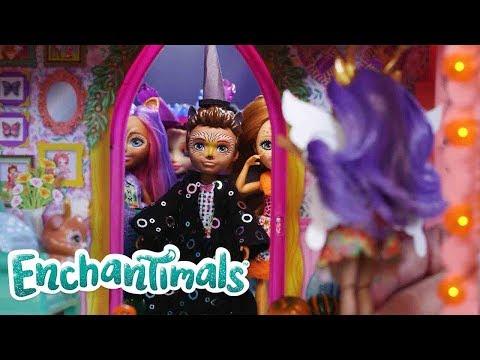 Enchantimals Россия ????Как вы отмечаете Хэллоуин? ????энчантималс куклы ????Куклы-колдуны
