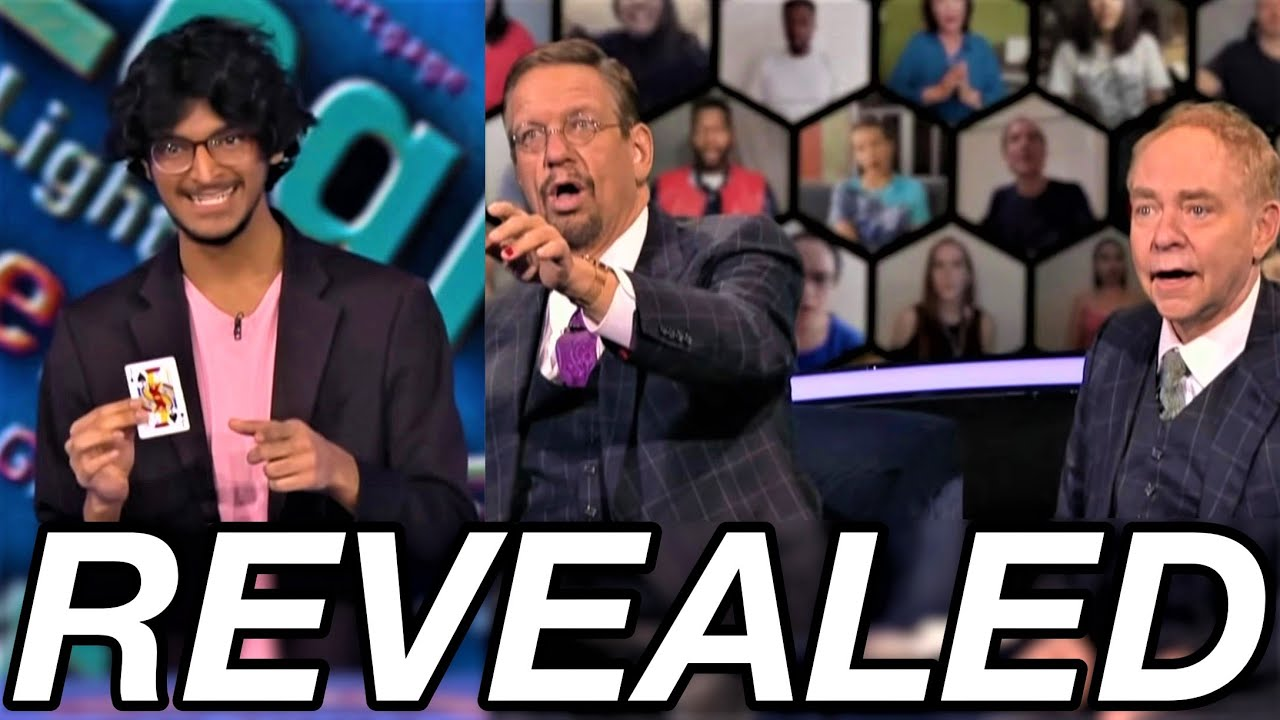 Download The Card Trick A TEEN Magician FOOLED Penn & Teller With REVEALED!