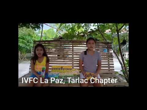 School supplies for IVFC La Pax Tarlac