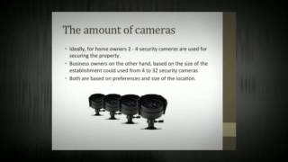 How to choose a security camera system for home and business