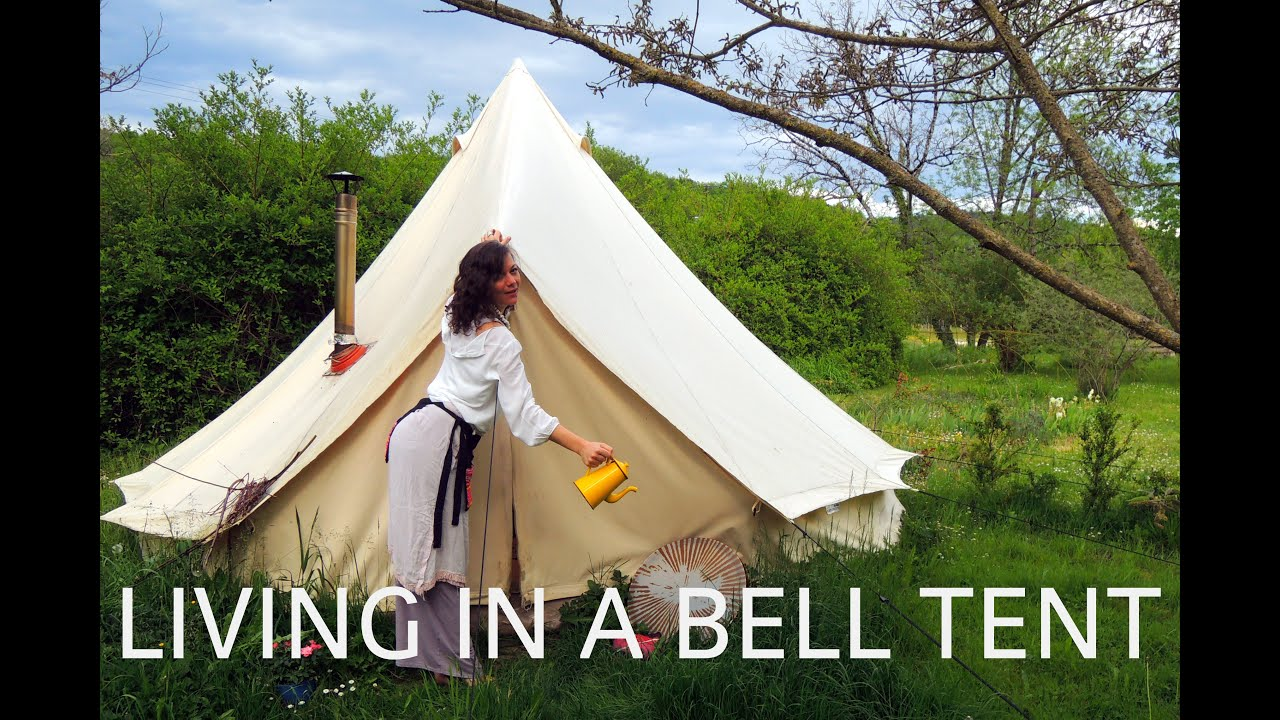 Living in a Bell Tent in the autumn winter  spring in France 2013-14 & Living in a Bell Tent in the autumn winter  spring in France ...