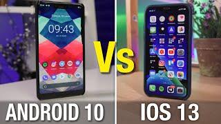 ЛИДЕР ИЗМЕНИЛСЯ Android 10 или Ios 13 - кто лучше