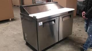 48 ins Salad Sandwich Prep Table Refrigerator RESTAURANT EQUIPMENT