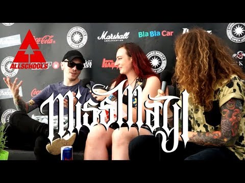 Interview with MISS MAY I - Summer Breeze Festival 2017