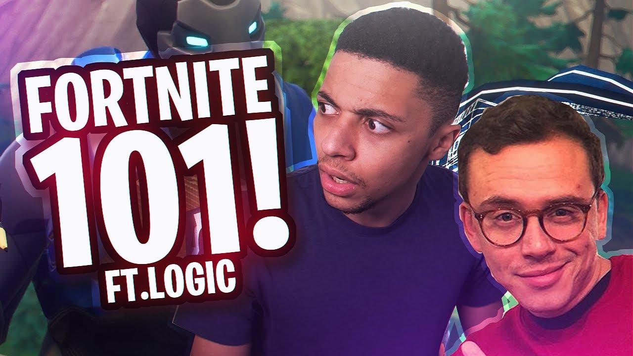 RE-LEARNING FORTNITE w/ Logic the Rapper