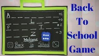 "स्कूल चले हम |Back to School Theme| ""Learn ABC"" Dice Game Fun for Kitty party|Prachi Game Ideas"